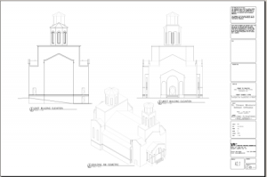 Projections of the new church
