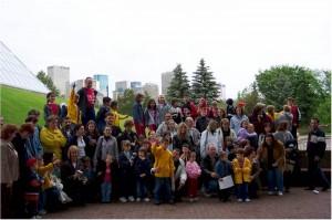 Наша школа у посети бартској школи у Едмонтону